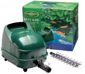 Blagdon koi air pump 25 cd aquatics blagdon koi air pump 25 for Large fish pond pumps