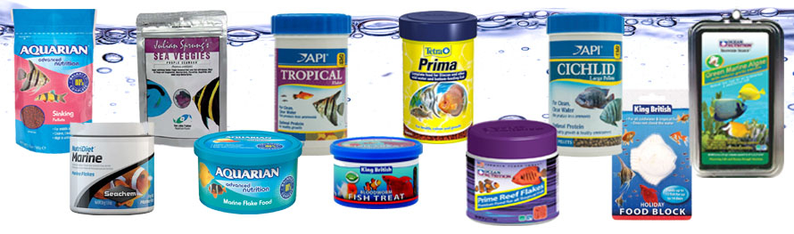 Aquarium Fish Foods And Feeders
