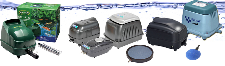 Pond Air Pumps And Accessories