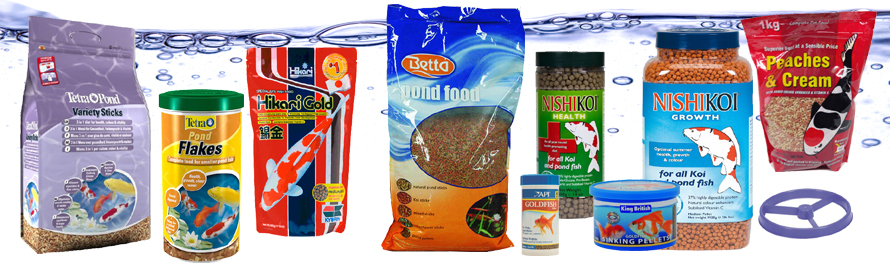 Pond Fish Foods And Fish Feeders