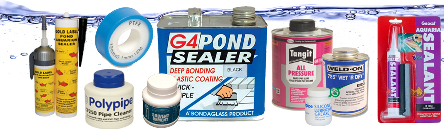 Pond Glues And Sealers
