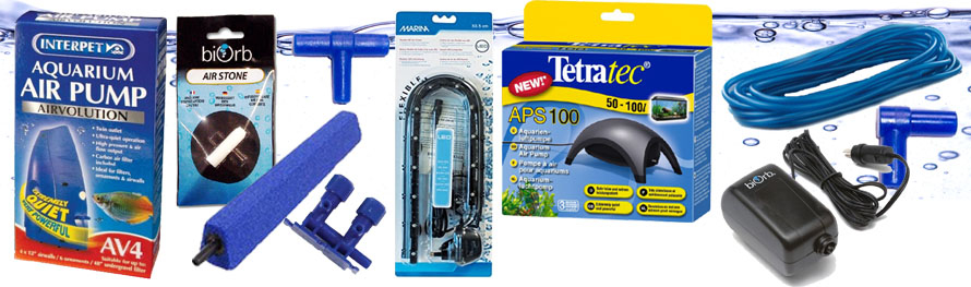 Aquarium Air Pumps And Accessories