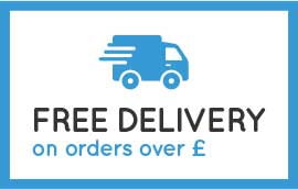 Free delivery on all orders over £50.00