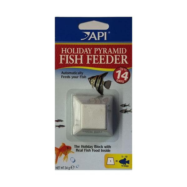 API 14 Day Pyramid Fish Food Feeder 1