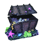 Aqua One Air Operated Treasure Chest On Rock