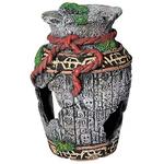 Aqua One Broken Aztec Vase Small (36755 aqu)