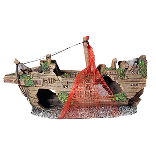 Aqua One Ship Wreck With Net  1