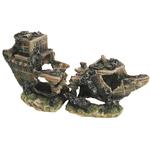 Aqua One Split Shipwreck Ornament