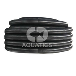 Black Flexible Ribbed Pond Hose Roll / Coil