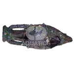 Aqua One Old Bronze Urn Ornament