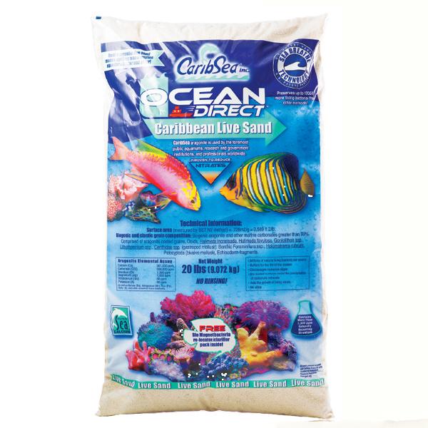 Caribsea Live Ocean Direct Sand 20lb 1
