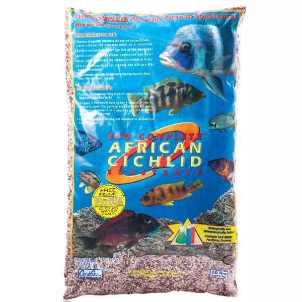 Eco-Complete Cichlid Substrate Sand 20lb / 9kg 1