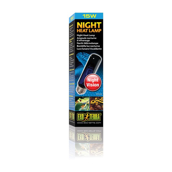 Exo Terra Night Glo Moonlight Lamp T10 15w Cd Aquatics