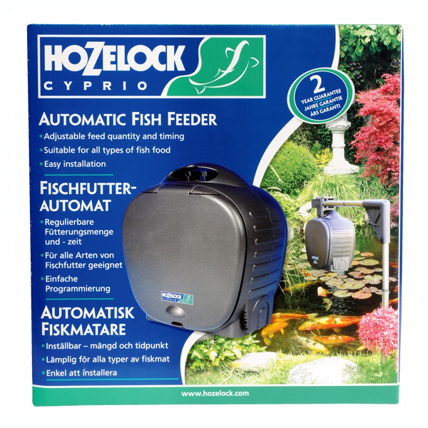 Hozelock Automatic Fish Food Feeder 1