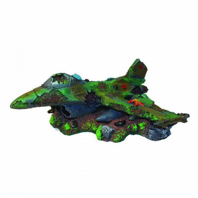 Hugo Fighter Plain Wreck 1