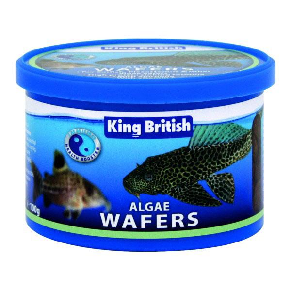 King British Algae Wafers 100g 1
