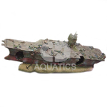 Large Aquarium Aircraft Carrier
