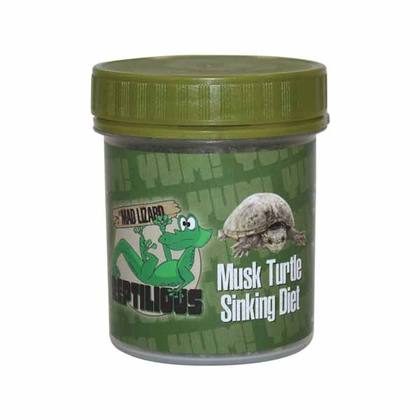 Mad Lizard Musk Turtle Food Sinking 80g 1
