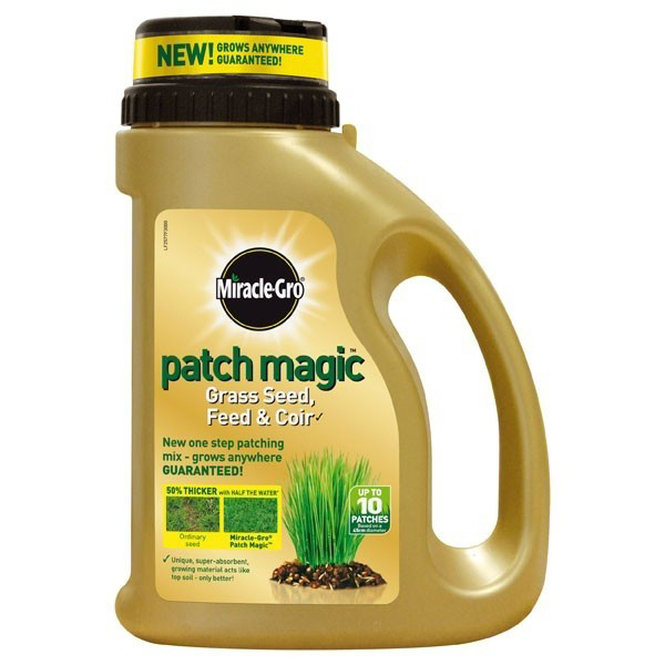 Miracle-Gro Patch Magic Grass Seed 750g Shaker