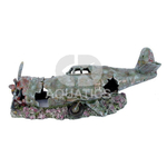 Plane Wreck Aquarium Ornament Small