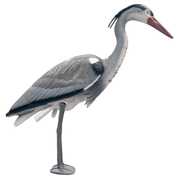 Plastic Heron Decoy Deterent 1