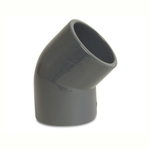 Pvc Imperial Pressure Pipe 45 Degree Bend Plain