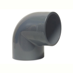 Pvc Imperial Pressure Pipe 90 Degree Elbow Bend Plain