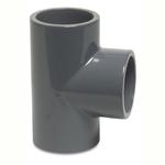 Pvc Imperial Pressure Pipe Tee Plain