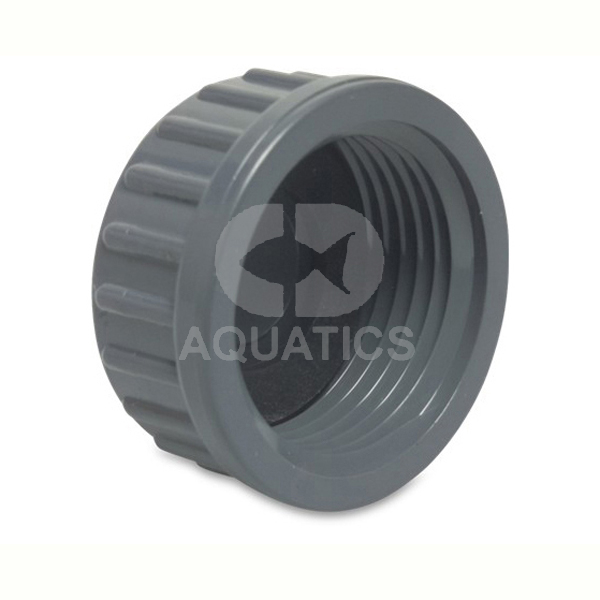 Pvc imperial pressure pipe threaded end cap cd aquatics