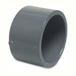 Pvc Metric Pressure Pipe End Cap Plain