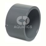Pvc Metric Pressure Pipe End Cap Plain