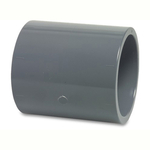 Pvc Metric Pressure Pipe Socket Plain