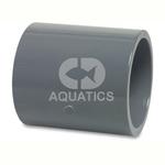Pvc Metric Pressure Pipe Socket Plain