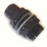 Pvc Metric Pressure Pipe Tank Connector / Bulk Head
