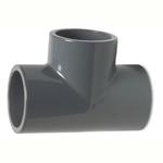 Pvc Metric Pressure Pipe Tee