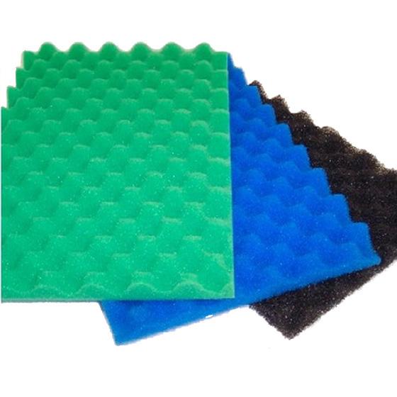 Set Of 3 Pond Filter Foams 1