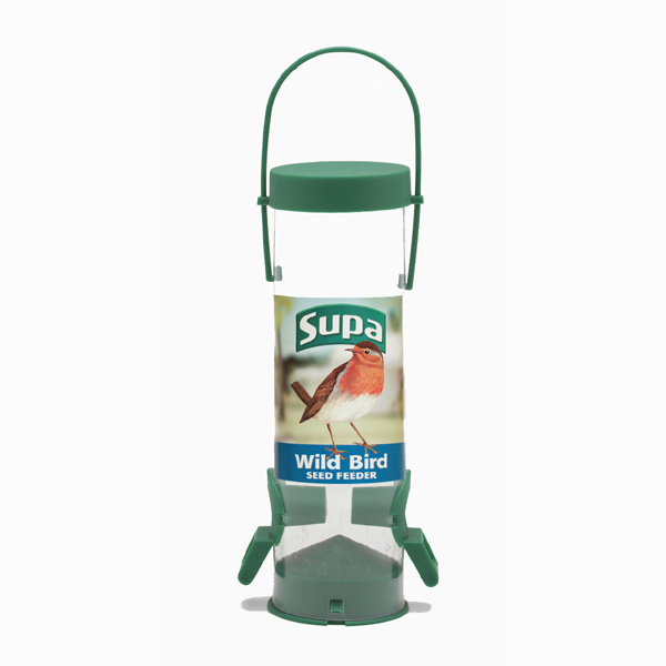 Supa 2 Port Seed Feeder 20cm 1