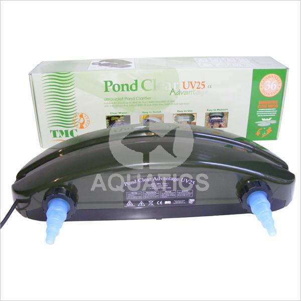 Tmc pond clear advantage uv clarifier cd aquatics tmc for Uv pond cleaner