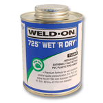 Wet R Dry solvent weld Cement glue 240ml